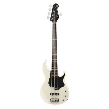 Yamaha BB235 5 String Bass Guitar Vintage White