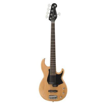 Yamaha BB235 5 String Bass Guitar Yellow Natural Satin