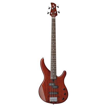 Yamaha TRBX174EW-RB Electric Bass Guitar - Exotic Wood Root Beer (4-String)