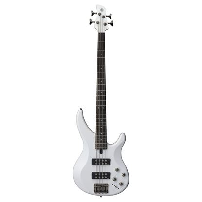 Yamaha TRBX304 Electric Bass Guitar - White (4-String)