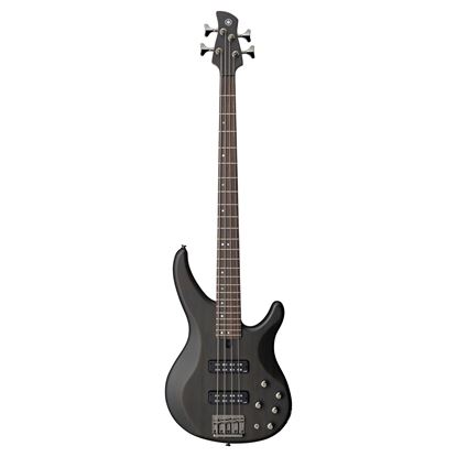 Yamaha TRBX504 Electric Bass Guitar - Translucent Black (4-String)