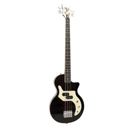 Orange O Bass 4 String Guitar Black Front