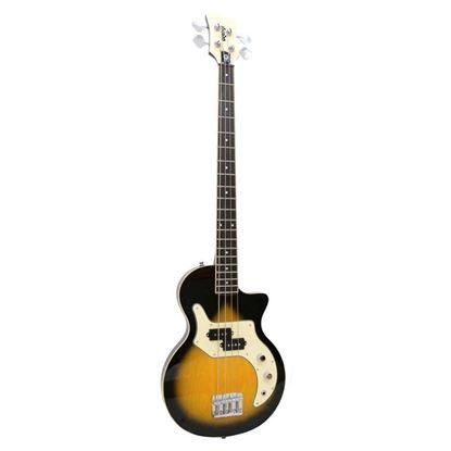 Orange O Bass 4 String Guitar Sunburst Front