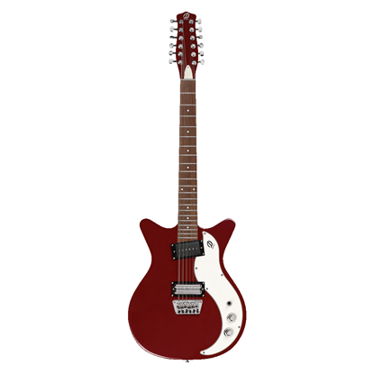Danelectro 59X 12-String Electric Guitar Blood Red - Front