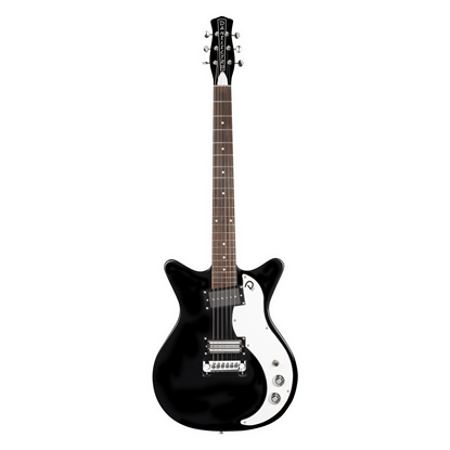 Danelectro 59X Electric Guitar Black - Front