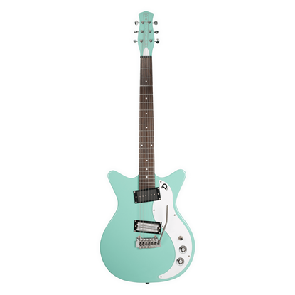 Danelectro 59XT Electric Guitar Aqua - Front