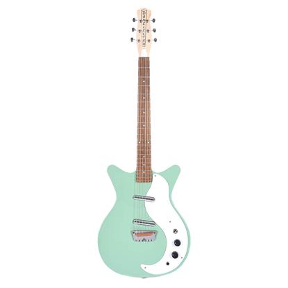 Danelectro Stock '59 Electric Guitar Aqua - Front