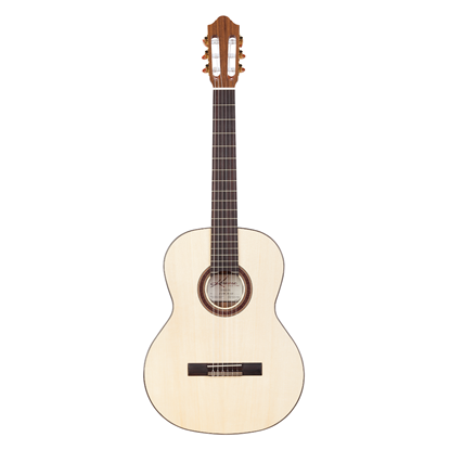 Kremona Artist Rondo RS Classical Guitar with Hard Case - All Solid Spruce and Bulgarian Walnut - Front