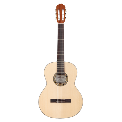 Kremona Soloist R65S Rondo Classical Guitar with Lightweight Case - Solid Spruce and Walnut - Front