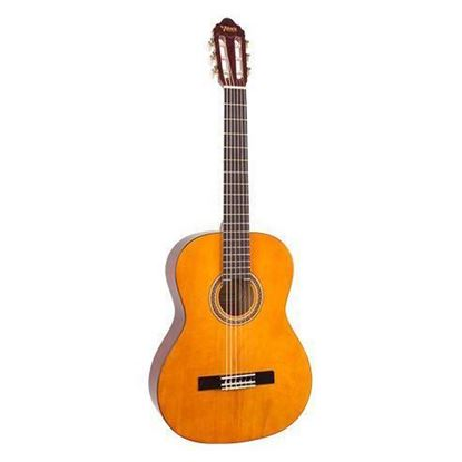 Valencia VC102 1/2 Size Classical Guitar - Natural - Front