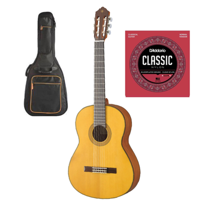Yamaha CG122MS Classical Guitar Essential Bundle
