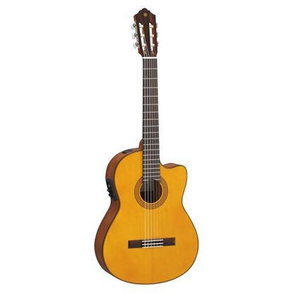 Yamaha CGX122MSC Classical Guitar with Cutaway and Pickup