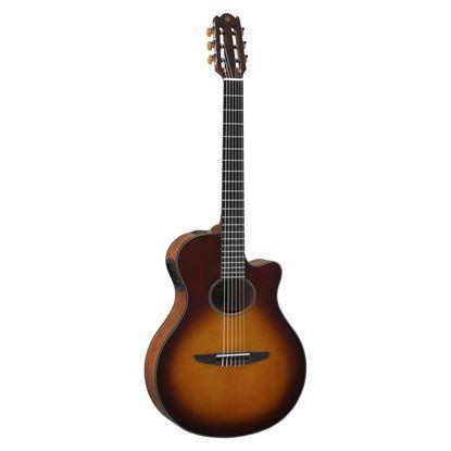 Yamaha NTX500 Classical Electric Guitar Brown Sunburst