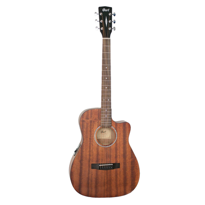 Cort AF520CEM Acoustic Guitar with Pickup and Cutaway - Front