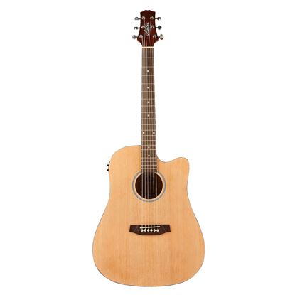 Ashton D20CEQNTM Acoustic Guitar (with Preamp & Onboard Tuner)