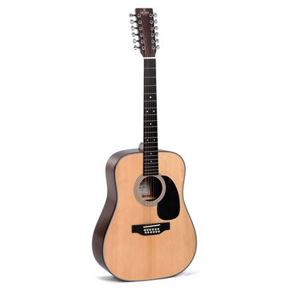 Sigma DM12-1ST 1 Series 12 String Acoustic Guitar - Front