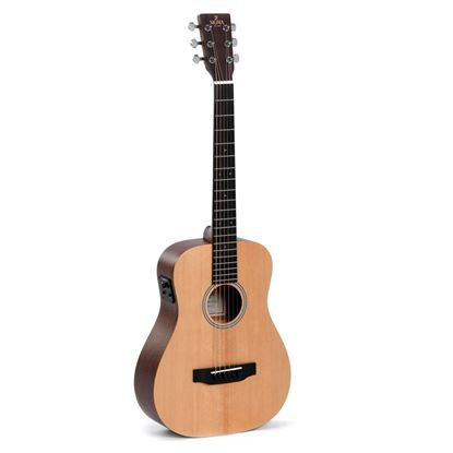 Sigma TM-12E Travel Series Acoustic Guitar - Front