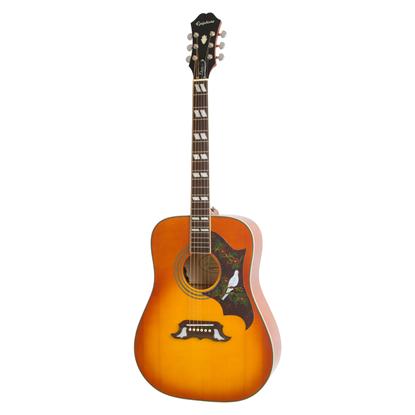 Epiphone Dove Pro Acoustic Guitar - Vintage Sunburst - Front