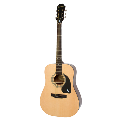 Epiphone DR100 Acoustic Guitar - Natural - Front