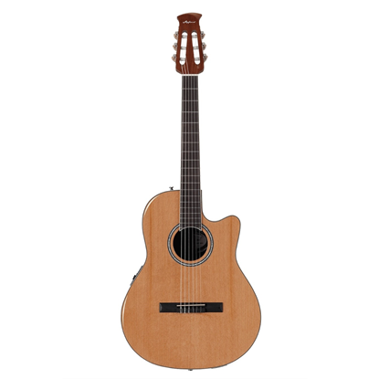 Ovation Applause Standard Special Nylon Guitar Natural Spruce - Front