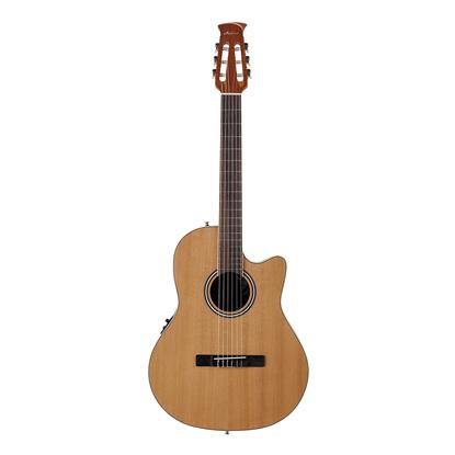 Ovation Applause Standard Nylon Guitar - Natural Cedar - Front