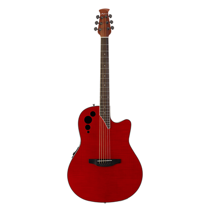 Ovation Applause Elite EX Acoustic Guitar - Cherry Flame - Front