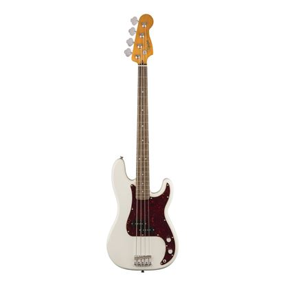 Squier Classic Vibe 60s Precision Bass - LRL - Olympic White - Front