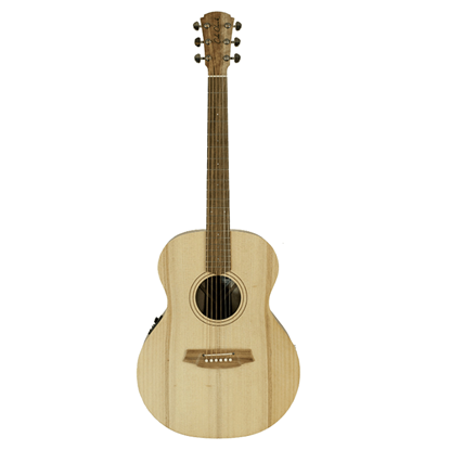 Cole Clark Angel 1 Acoustic Guitar - Bunya Maple (CCAN1EBM) - Front