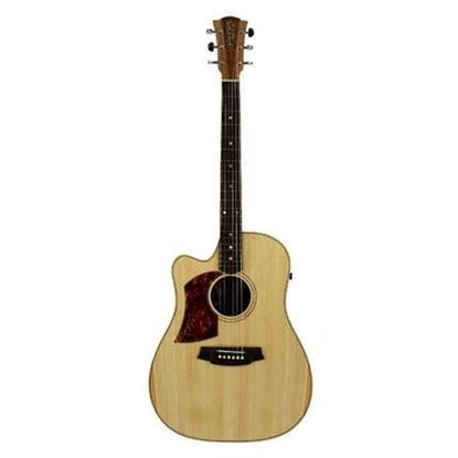Cole Clark Fat Lady 2 Acoustic Guitar Left Handed - Bunya Blackwood (CCFL2ECLHBB)