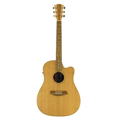 Cole Clark Fat Lady 2 Acoustic Guitar - Cedar Blackwood (CCFL2ECCB)