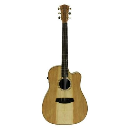 Cole Clark Fat Lady 2 Acoustic Guitar - Cedar of Lebanon (CCFL2ECCOLB)
