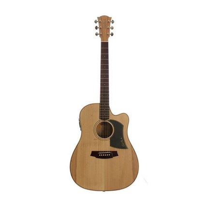 Cole Clark Fat Lady 1 Acoustic Guitar - Bunya Blackwood (CCFL1ECBB)