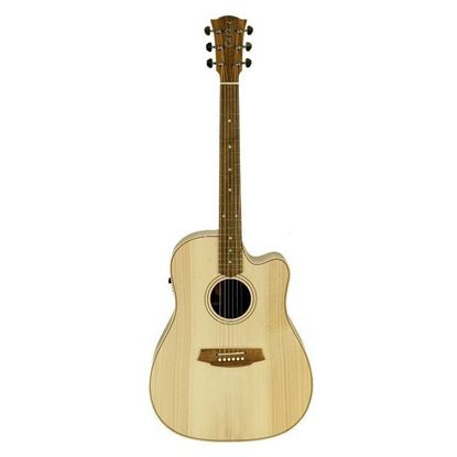 Cole Clark Fat Lady 2 Acoustic Guitar - Bunya Blackwood (CCFL2ECBB)