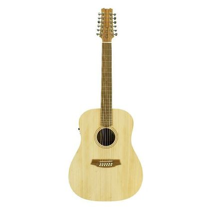 Cole Clark Fat Lady 1 Acoustic Guitar 12 String - Bunya Maple (CCFL1E12BM)