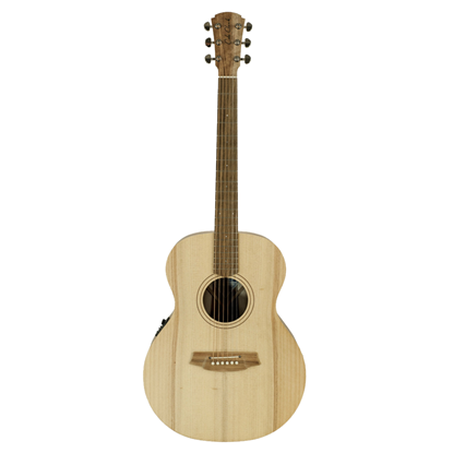 Cole Clark Angel 1 Acoustic Guitar - Bunya Blackwood (CCAN1EBB) - Front