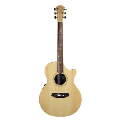Cole Clark Fat Lady 2 Acoustic Guitar - Bunya Maple (CCFL2ECBM)