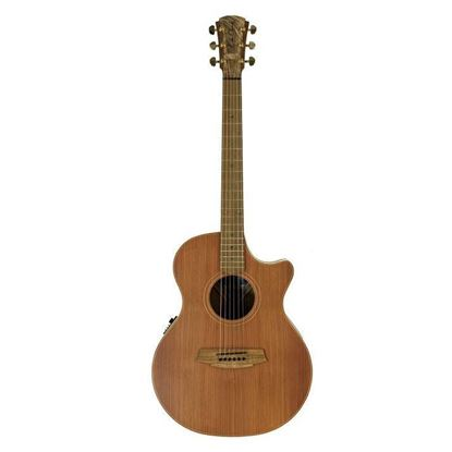 Cole Clark Angel 2 Acoustic Guitar - Redwood Mahogany (CCAN2ECRDMAH)