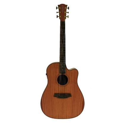 Cole Clark Fat Lady 2 Acoustic Guitar - Redwood Mahogany (CCFL2ECRDMAH)