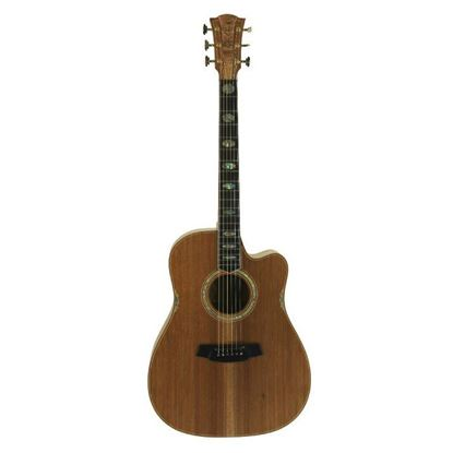 Cole Clark Fat Lady 3 Acoustic Guitar - All Blackwood (CCFL3ECBLBL)