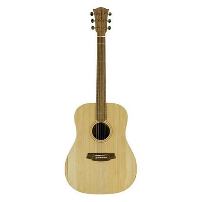 Cole Clark Fat Lady 1 Series Acoustic Guitar Bunya-Maple - Front