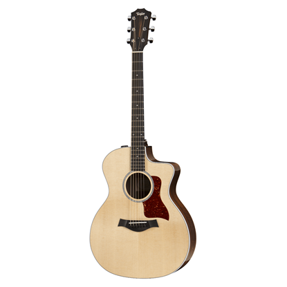 Taylor 214ce-CF Deluxe Spruce/Copafera Acoustic Guitar Front