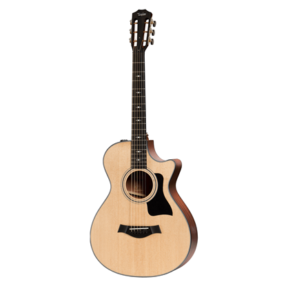Taylor 312ce 12-Fret Spruce/Sapele Acoustic Guitar with Pickup and Cutaway - Front