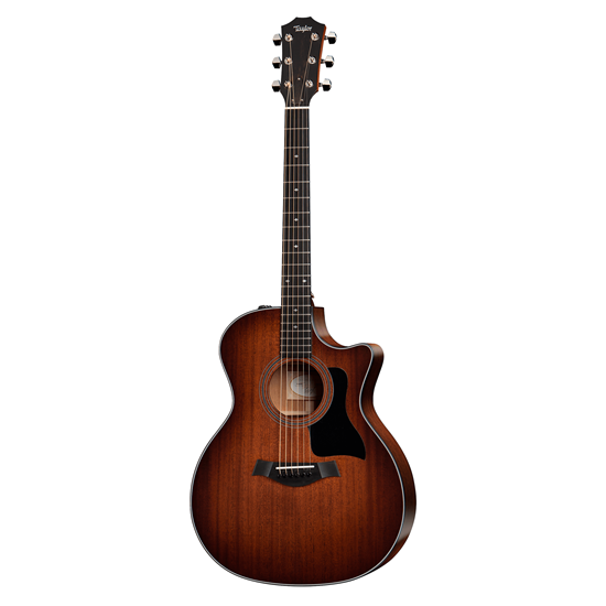Taylor 324ce Mahogany/Blackwood Acoustic Guitar with Pickup and Cutaway in Shaded Edge Burst