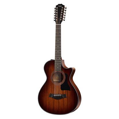 Taylor 362ce 12-String GC Mahogany/Blackwood Acoustic Guitar with Pickup & Cutaway Shaded Edge Burst