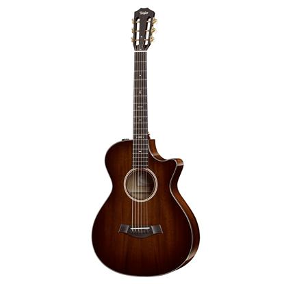 Taylor 522ce 12-Fret Mahogany/Mahogany Acoustic Guitar with Pickup and Cutaway
