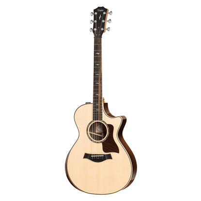 Taylor 812ce Spruce/Rosewood Deluxe Acoustic Guitar with Pickup and Cutaway - Front