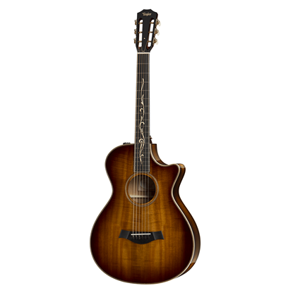 Taylor K22ce 12-Fret Koa/Koa Acoustic Guitar with Pickup and Cutaway - Front