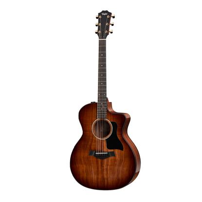 Taylor 224ce-K Deluxe Koa/Koa Acoustic Guitar - Front