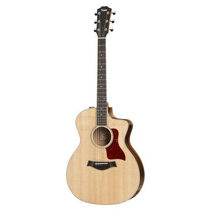 Taylor 214ce-K Deluxe Spruce/Koa Acoustic Guitar Front