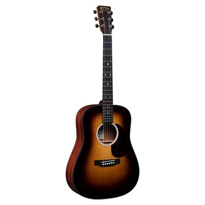 Martin DJR-10 Dreadnought Junior Burst Acoustic Guitar Front